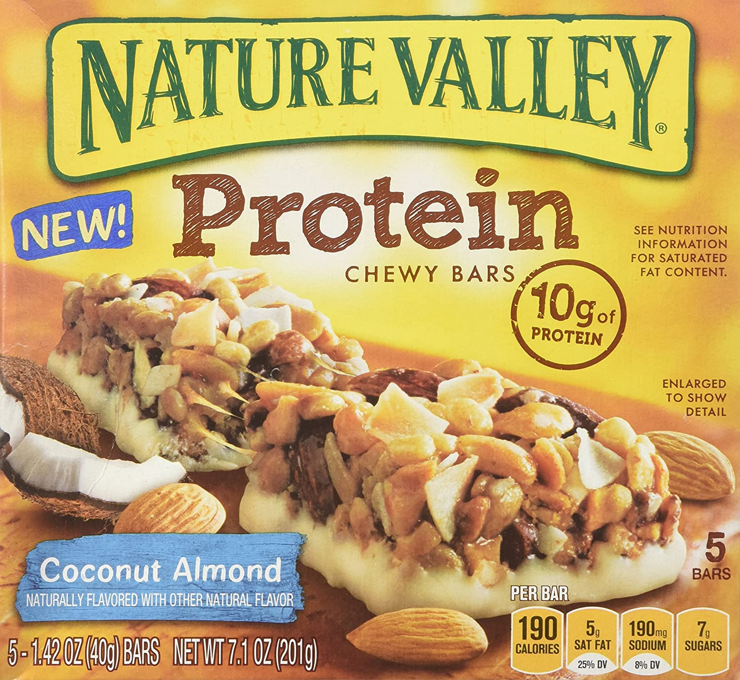 Nature Valley Protein Chewy Granola - Coconut Almond (2 Pack)