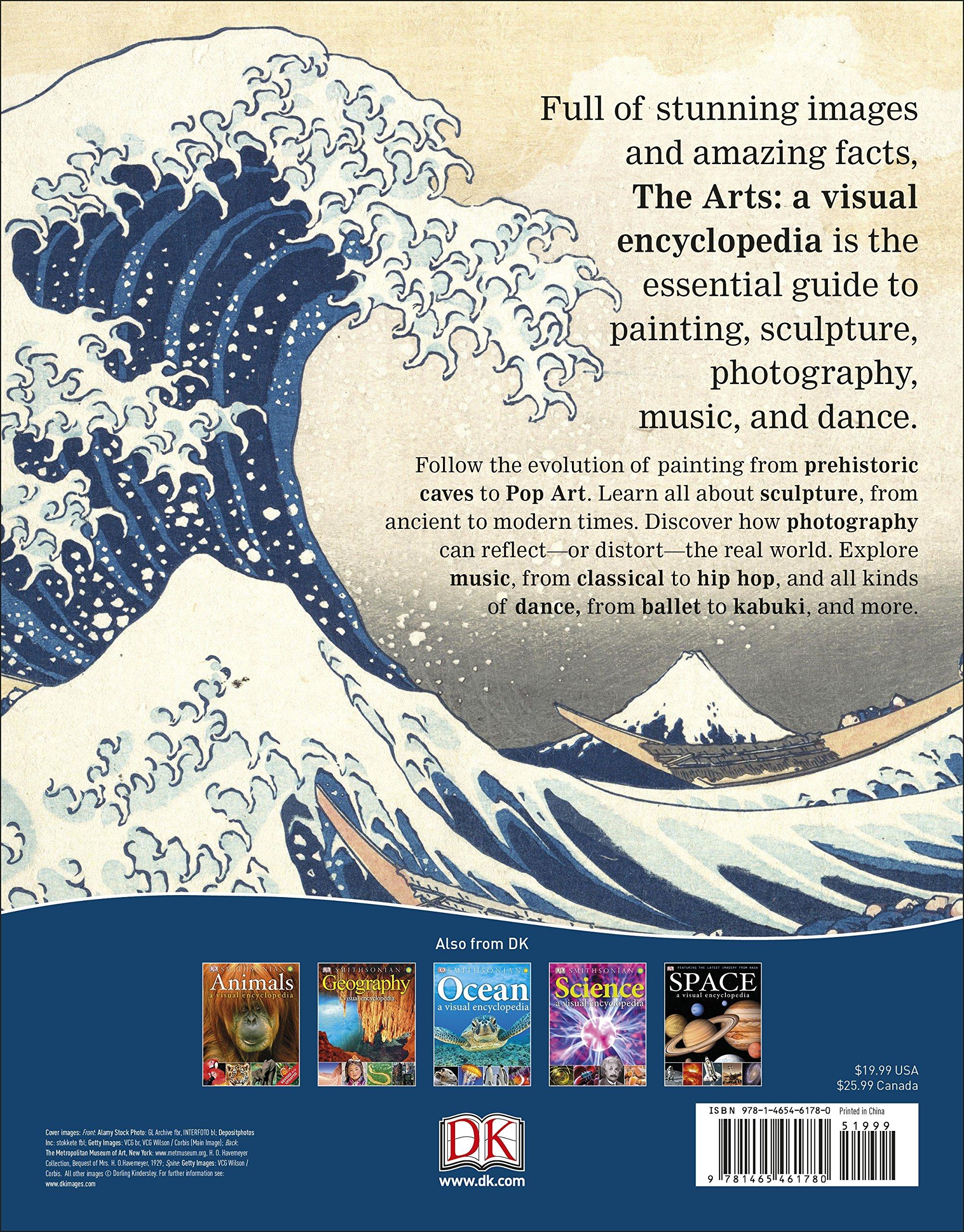 c9ba91a06 The Arts  A Visual Encyclopedia  DK  9781465461780  Amazon.com  Books