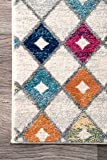 nuLOOM Moroccan Blythe Area Rug, 4' x 6', Multi