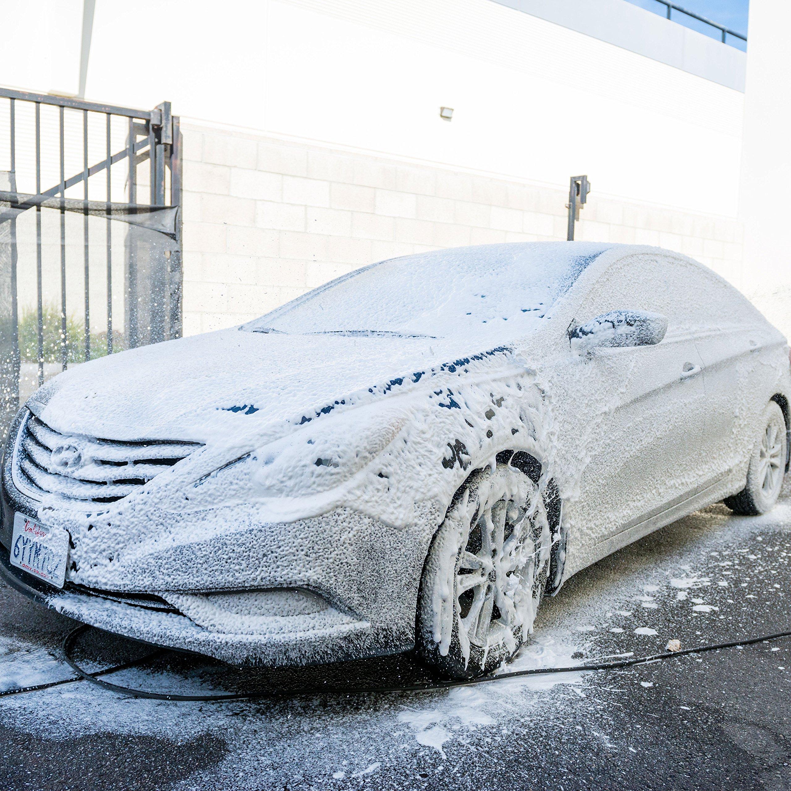 Chemical Guys CWS61964 Black Light Hybrid Radiant Finish Car Wash Soap (64 oz - 1/2 Gallon) by Chemical Guys (Image #5)
