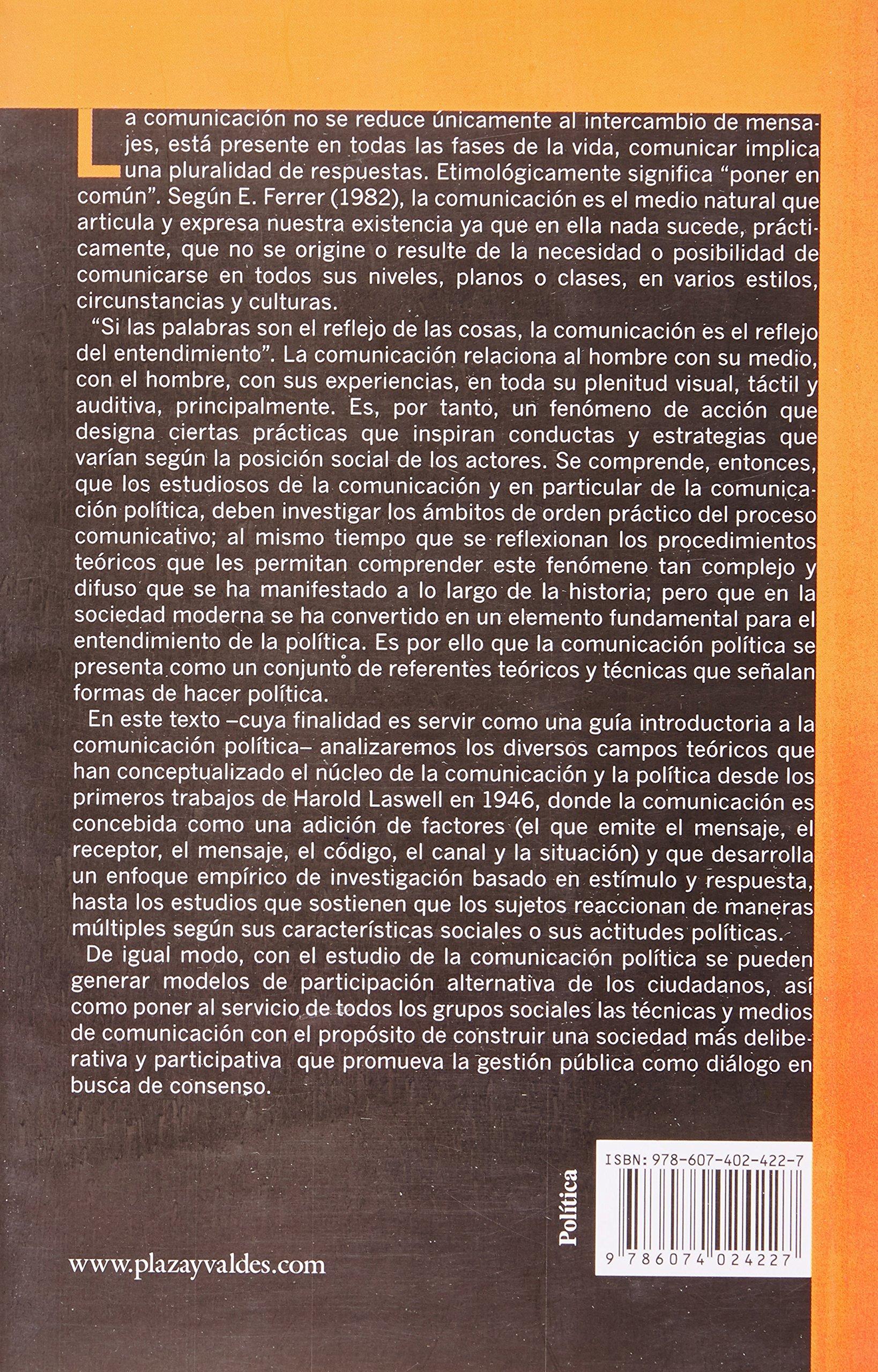 Metodologia de la comunicacion politica en campanas electorales (Spanish Edition): Martin Mora Ledesma: 9786074024227: Amazon.com: Books