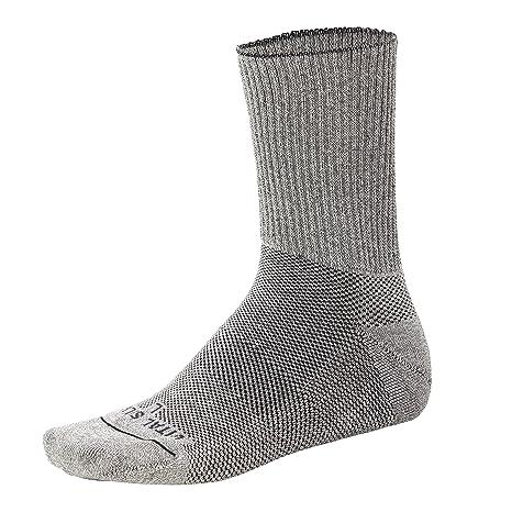 Vital de plata de ley - interior sin costuras diabetes y mejora par de calcetines para