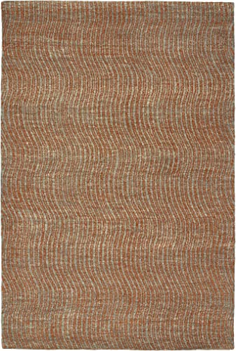 Kaleen Rugs Textura Collection TXT02-53 Paprika 8 x 10 Handmade Rug