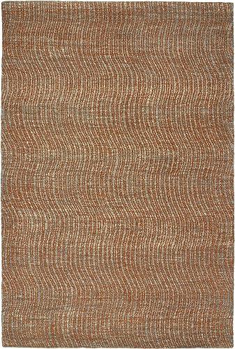 Kaleen Rugs Textura Collection TXT02-53 Paprika 8 x 10 Handmade Rug