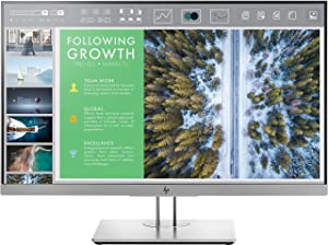 HP EliteDisplay E243 23.8-Inch Screen LED-Lit Monitor Silver (1FH47AA#ABA)