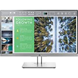 HP EliteDisplay 23.8-Inch Screen LED-Lit Monitor Silver (1FH47AA#ABA)