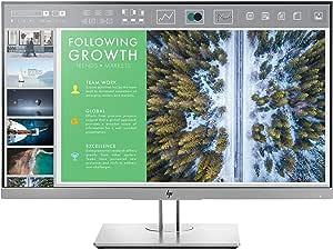 HP EliteDisplay 23.8-Inch Screen LED-Lit Monitor Silver (1FH47AA#ABA)