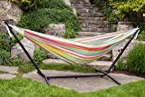 Vivere Double Polyester Hammock with Space Saving