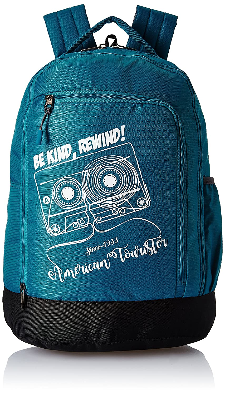 c14e20086a1 American Tourister 28 Ltrs Teal Casual Backpack (AMT PING Backpack 02 -  Teal)  Amazon.in  Bags, Wallets   Luggage