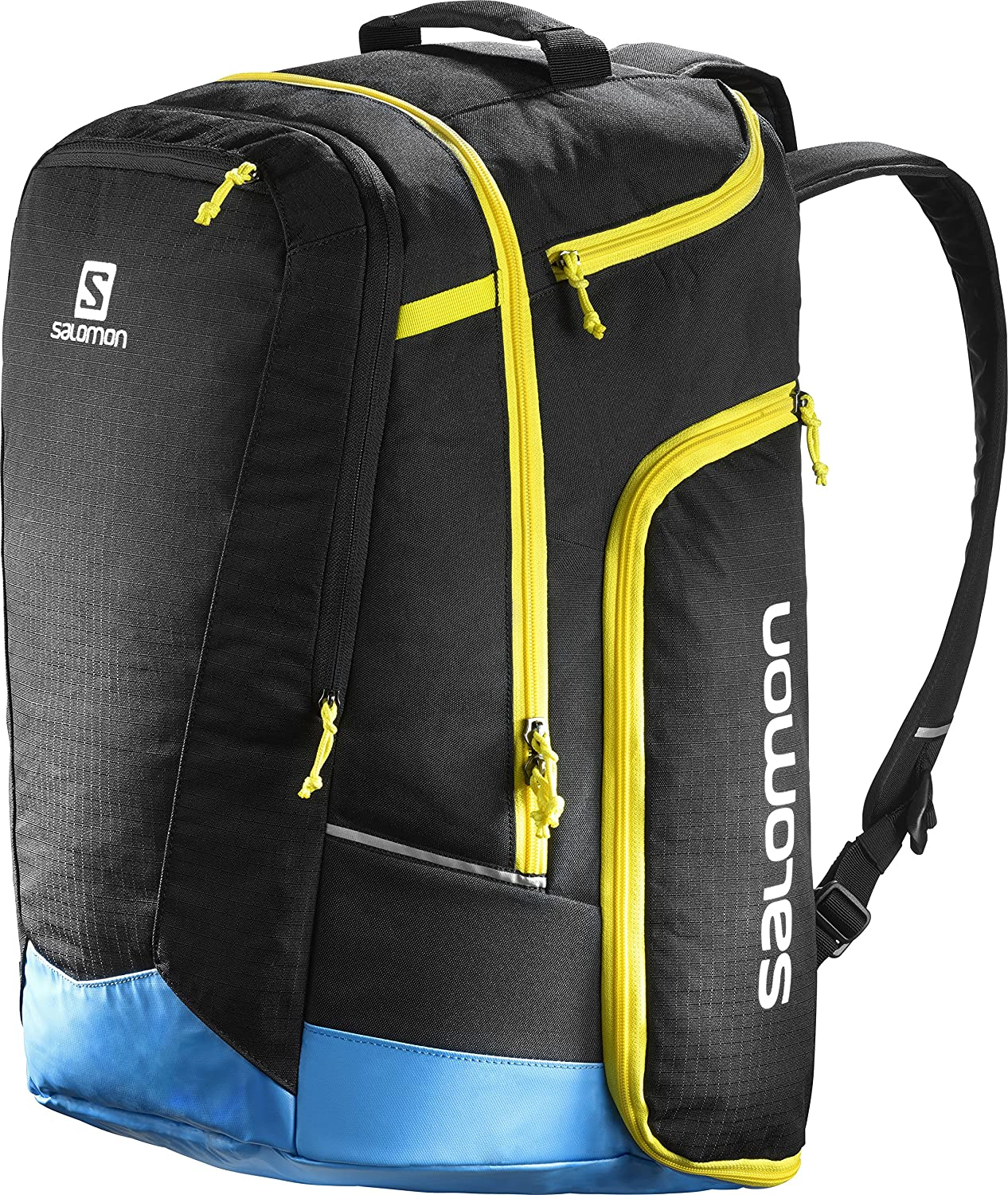 SALOMON Bolsa para Equipo de esquí, 50L, Extend GO-TO-Snow Gear Bag, Negro/Azul, l38261800