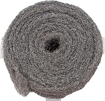 cristalizar decapar limpiar Pulir BARLESA BOBINA DE LANA ACERO DE 2,5 KG Rizada, 2
