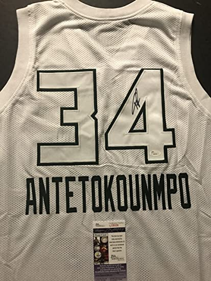 8a001761 ... real autographed signed giannis antetokounmpo 2018 all star game  milwaukee white basketball jersey jsa coa 668f4
