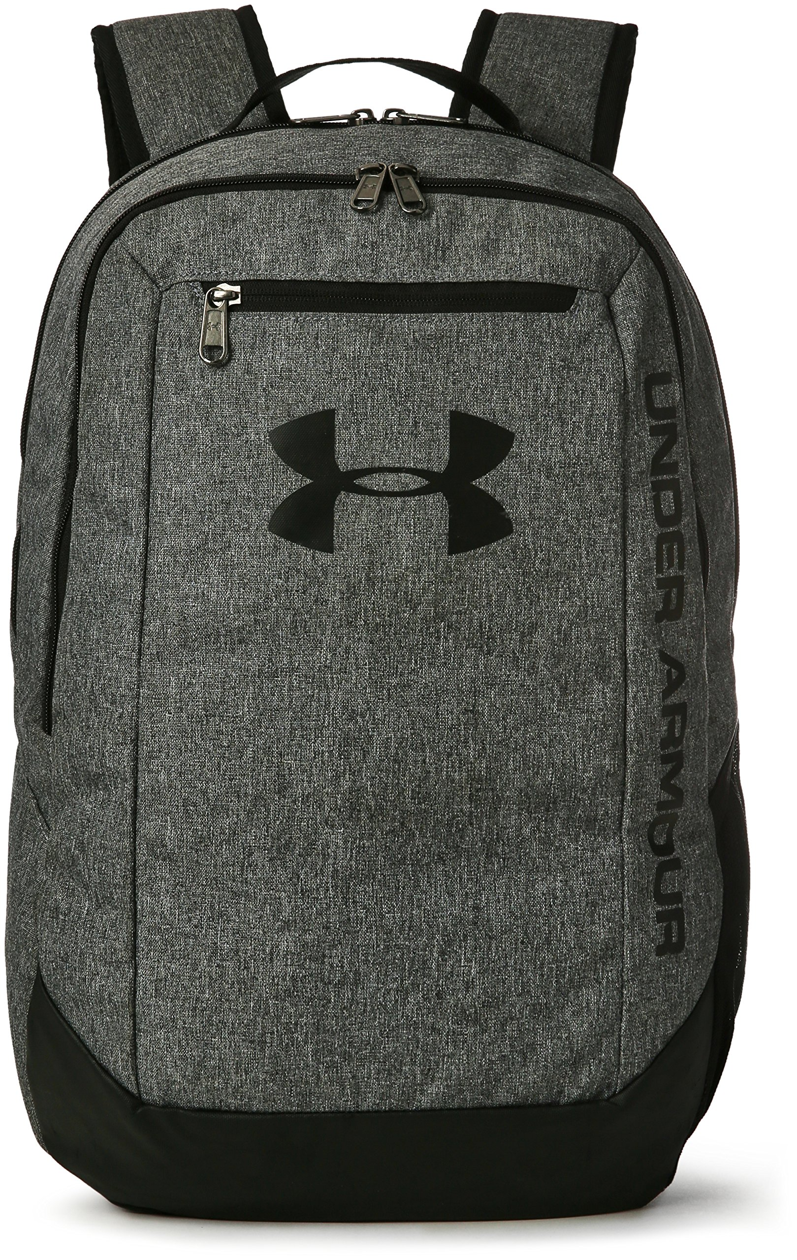 Under Armour UA Hustle Backpack Ldwr Mochila, Hombre, Gris Graphite/Black 041,