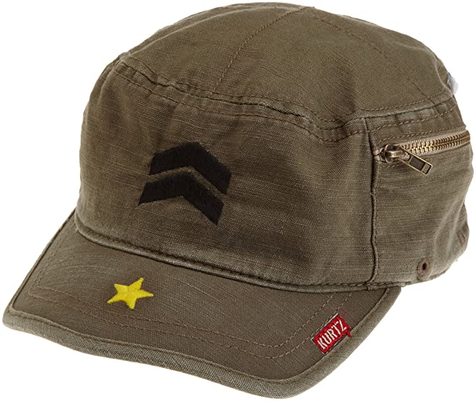Amazon.com  A.Kurtz Mens Fritz Millitary Legion Cap  Military Apparel  Accessories  Clothing 715a9241e85d
