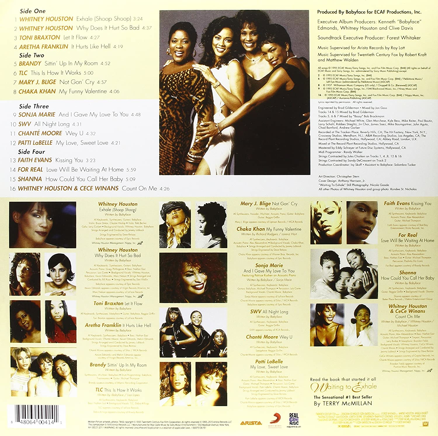 Various Artists   Waiting To Exhale: Original Soundtrack Album (Limited  Purple Vinyl Gatefold Edition)   Amazon.com Music