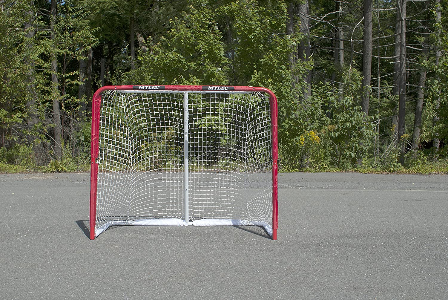 Mylec All Purpose Steel Goal, Red : Hockey Nets : Sports & Outdoors