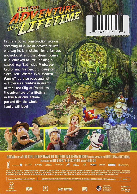 Amazon Com Tad The Lost Explorer Enrique Gato Movies Tv