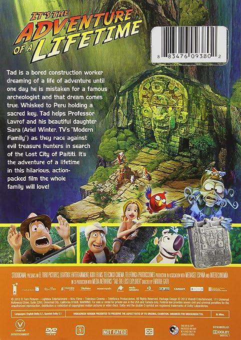 Tad: Lost Explorer [Reino Unido] [DVD]: Amazon.es: Cine y Series TV