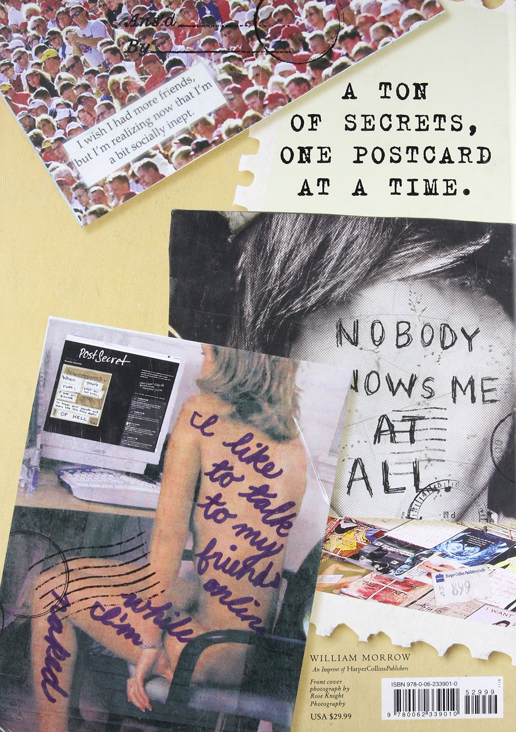 amazon com the world of postsecret 9780062339010 frank warren books