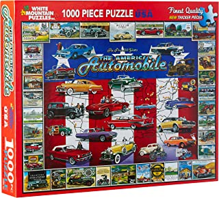 product image for White Mountain Puzzles American Auto History