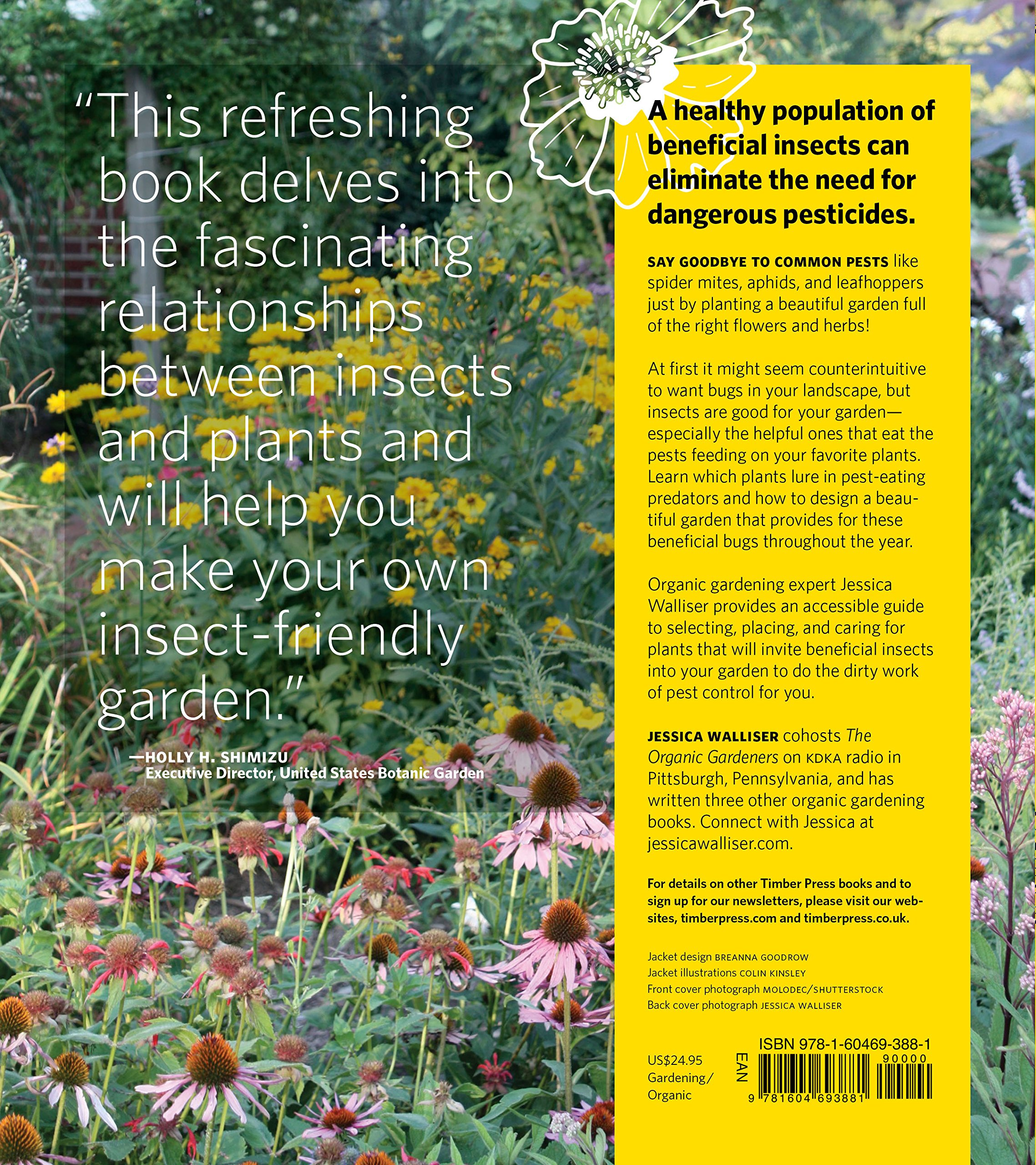 Attracting Beneficial Bugs to Your Garden: A Natural Approach to Pest Control by Timber Press
