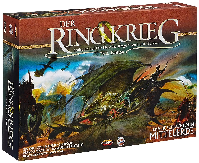 Heidelberger Spieleverlag HE421 - Der Ringkrieg, Juego de ...