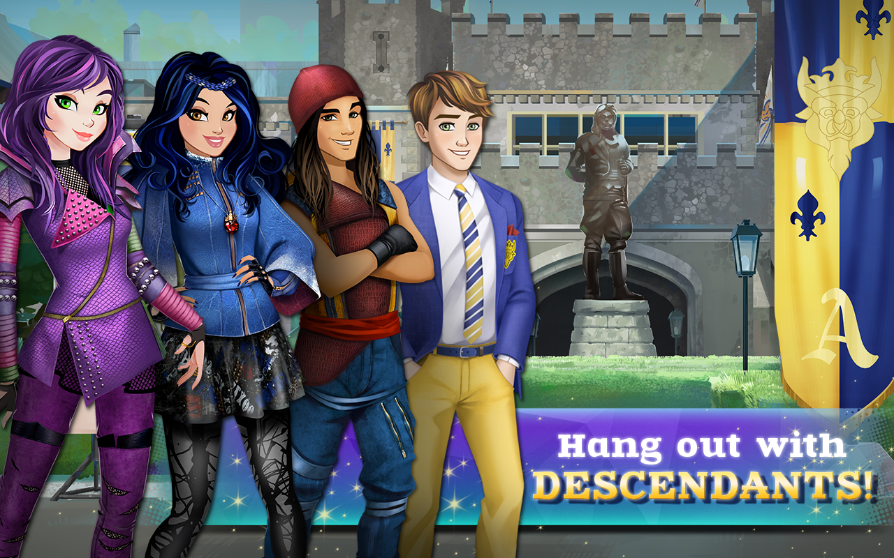 Amazon com descendants appstore for android