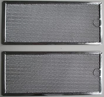 2 Filters W10208631A Whirlpool Microwave Grease Filter  5 7//8 x 13 3//8 x 3//32/""