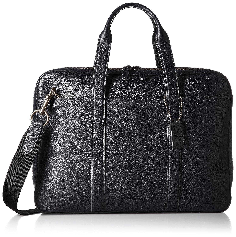 738c842cb9 Amazon.com  COACH Men s Metropolitan Soft Brief Qb Midnight Navy Black One  Size  Shoes