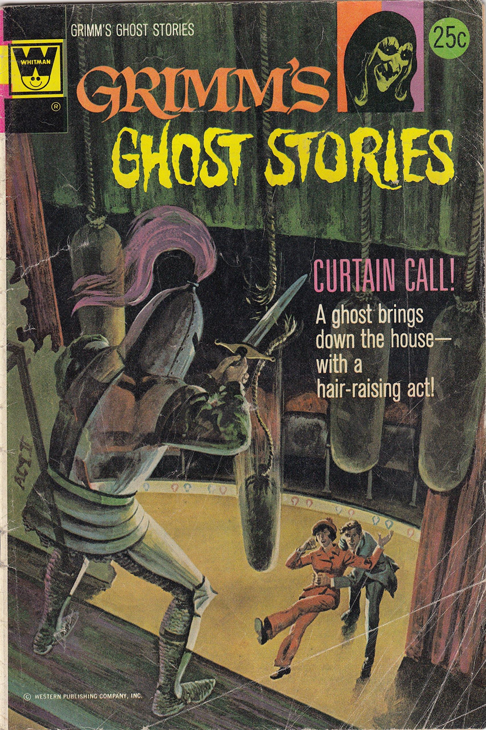Grimm's Ghost Stories, No. 17 (Death Rattle): Amazon.com: Books