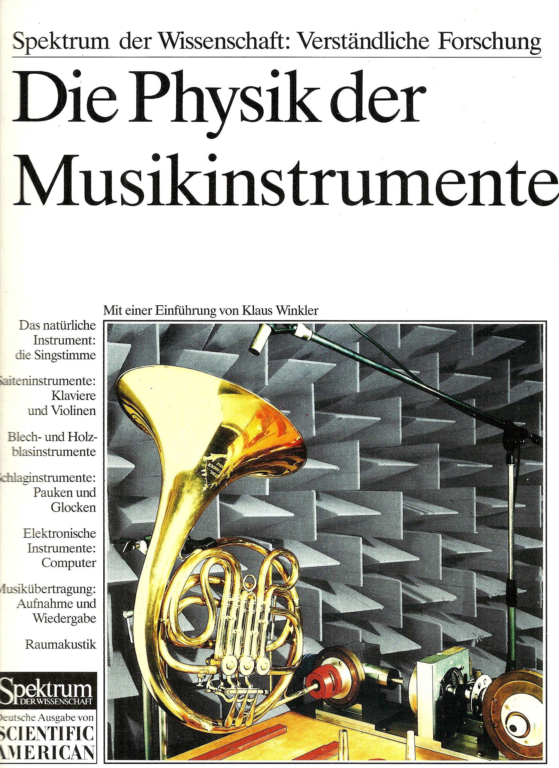 Die Physik der Musikinstrumente