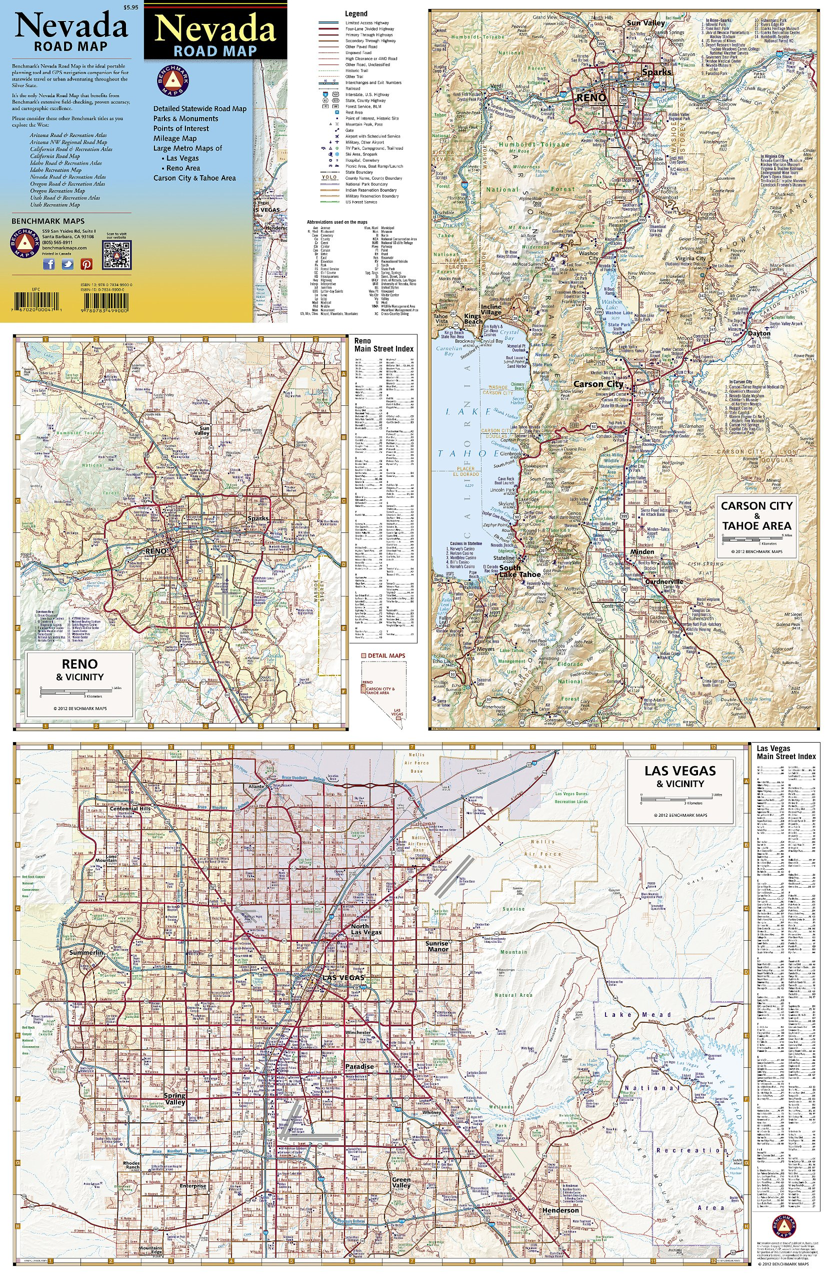 Nevada Road Map Benchmark Maps Nevada Benchmark Maps Firm - Maps of nevada