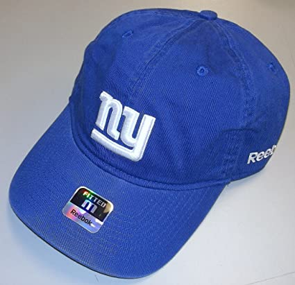 fb31cbbffc7 Image Unavailable. Image not available for. Color  NEW York Giants Slouch  Fitted Reebok Hat ...