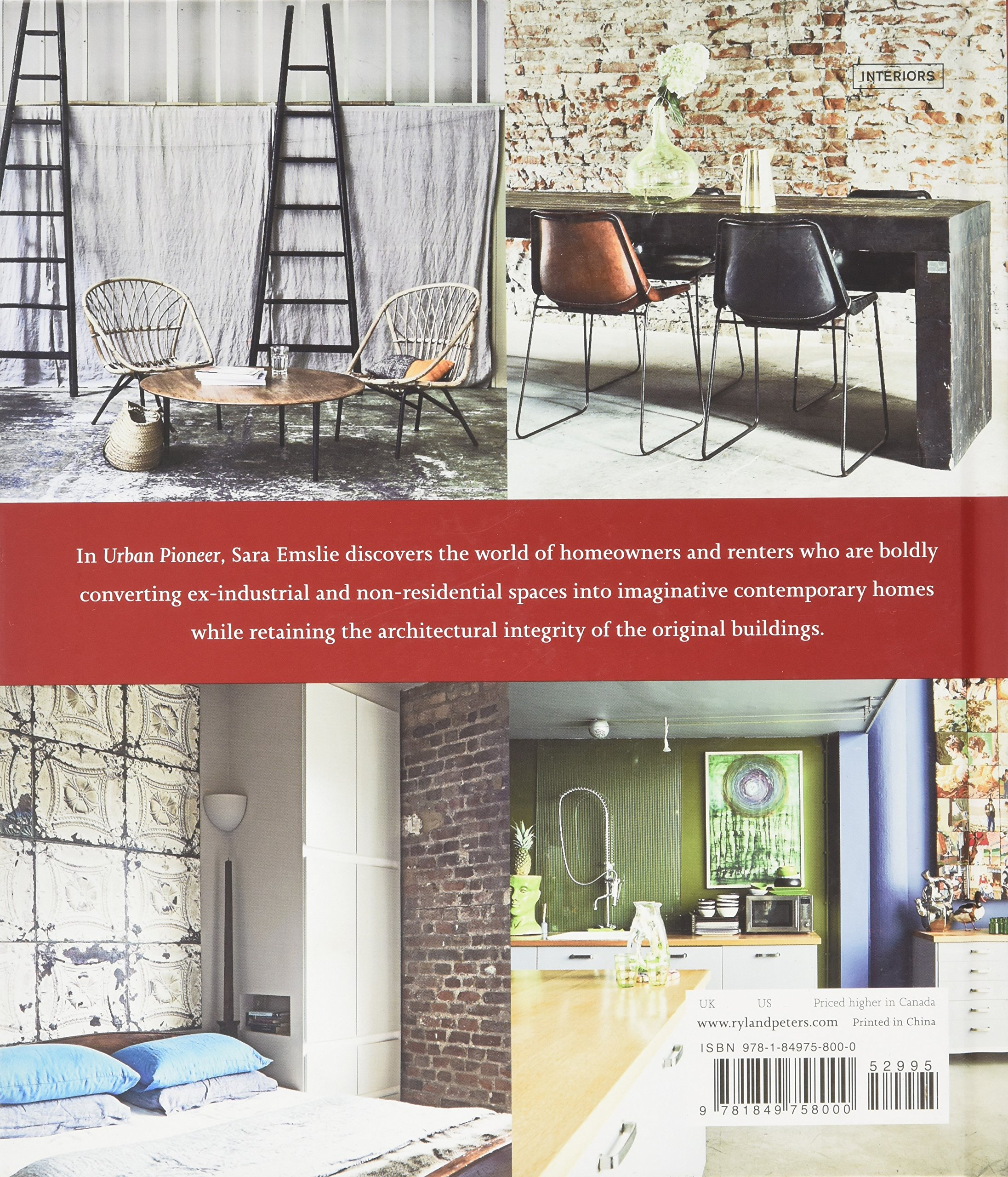 Amazon.com: Urban Pioneer: Interiors Inspired By Industrial Design  (9781849758000): Sara Emslie: Books