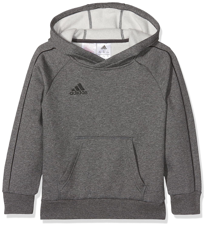 Adidas Core18 Hoody Y, Felpa Unisex Bambini