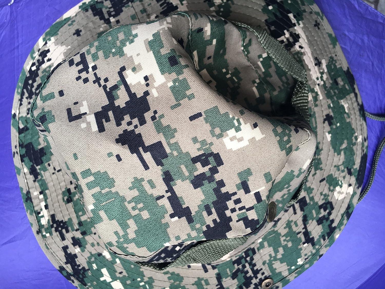 KAIFANG arm/ée Britannique Militaire Jungle Boonie Chapeau de Soleil Bush Rip Stop Special Forces