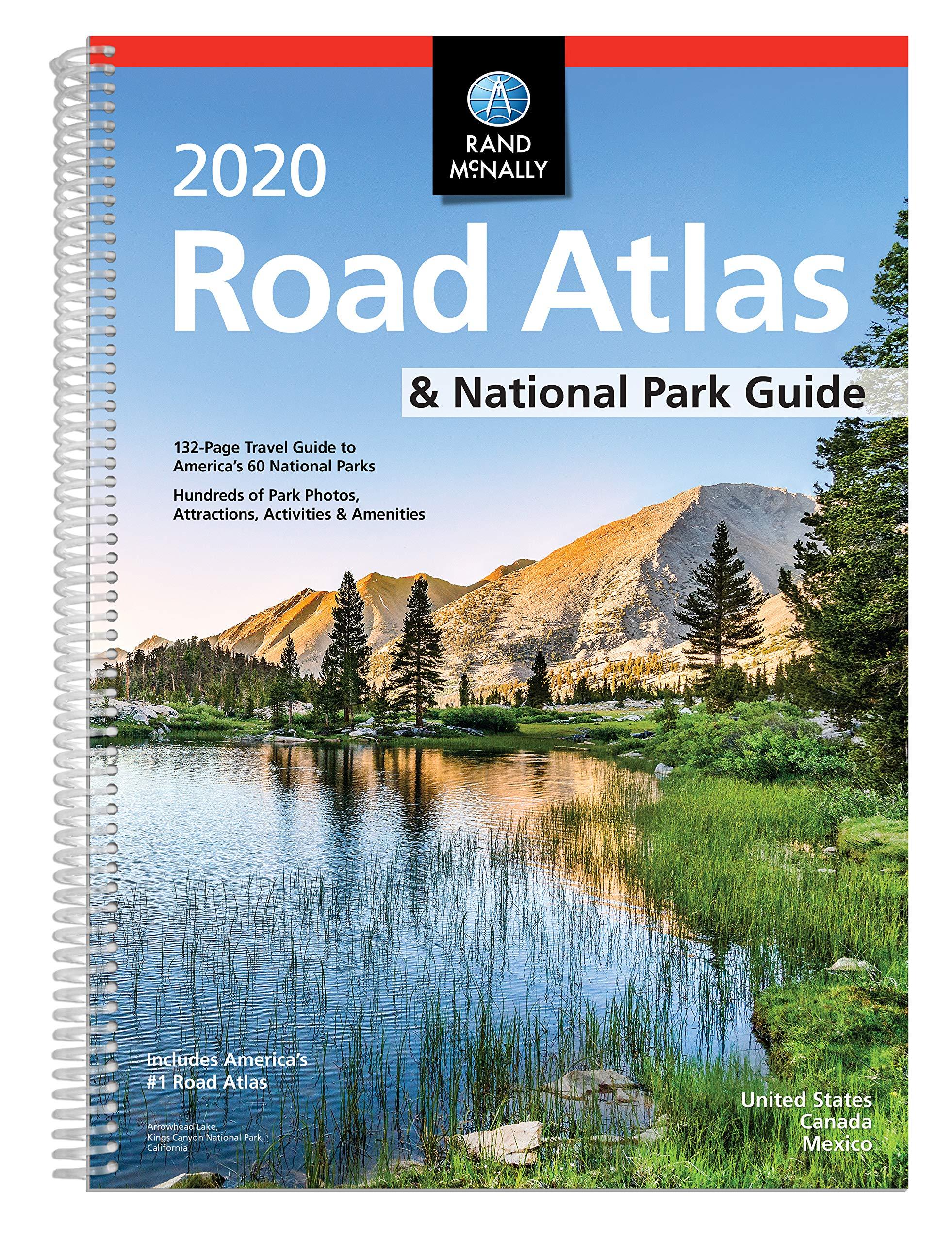 Rand McNally 2020 National Park Atlas & Guide by Rand McNally