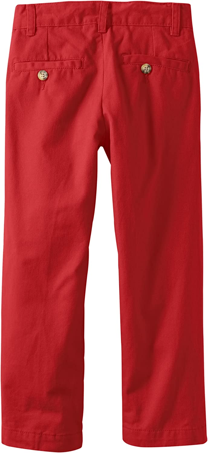 Wes /& Willy Boys Twill Flat Front Pant