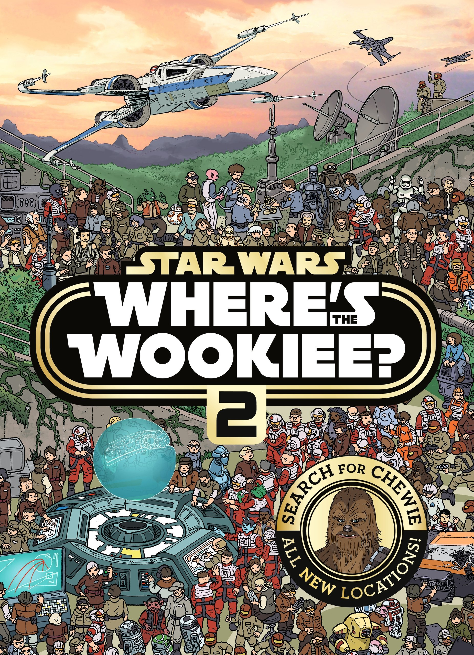 Star Wars - Where's the Wookiee 2 (Star Wars Search & Find)