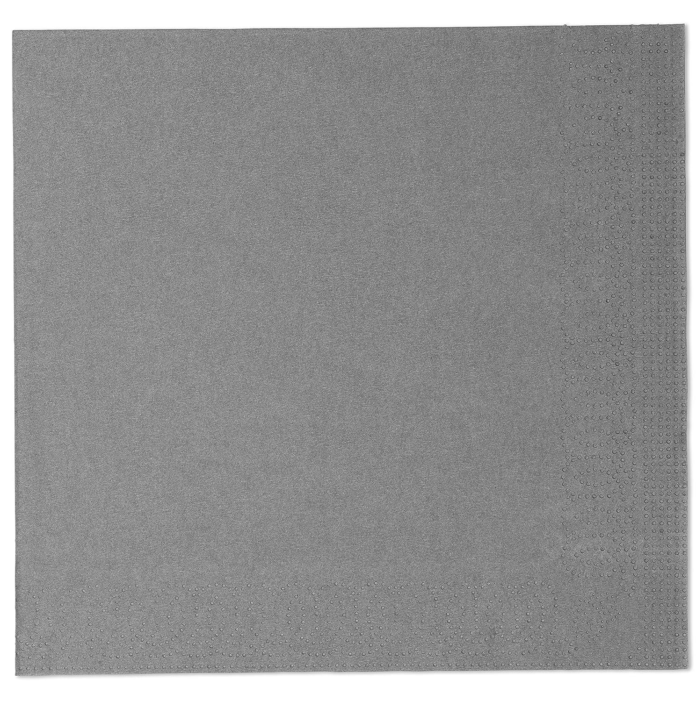 Tork 477774 Soft Brown Dinner Napkin 3 Ply Advanced WxL: 19.5cm x 19.5cm Unprinted Serviette in Dark Brown 12 x 100 sheets