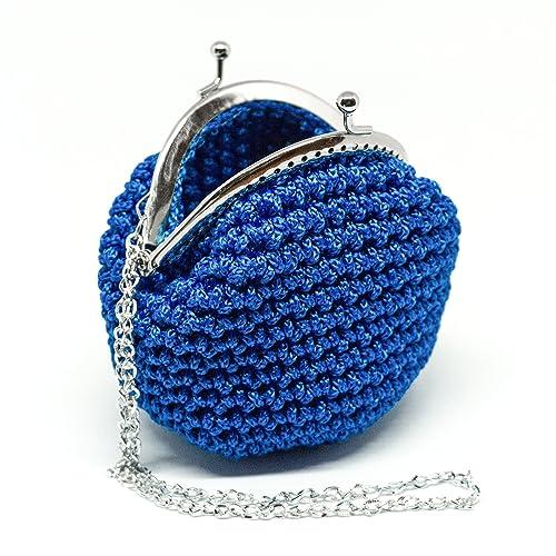 INGRID - Italian Handmade - Monedero hecho a mano. Crochet ...