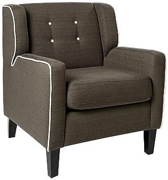 Amazon.com: Homelegance 1218dg-1 roweena tapizado sillón ...