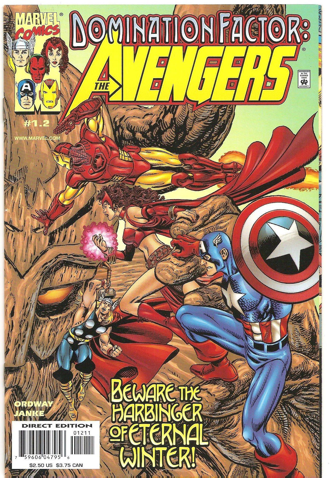 Amazon.com: Domination Factor : Avengers #1.2 (The Praxis ...