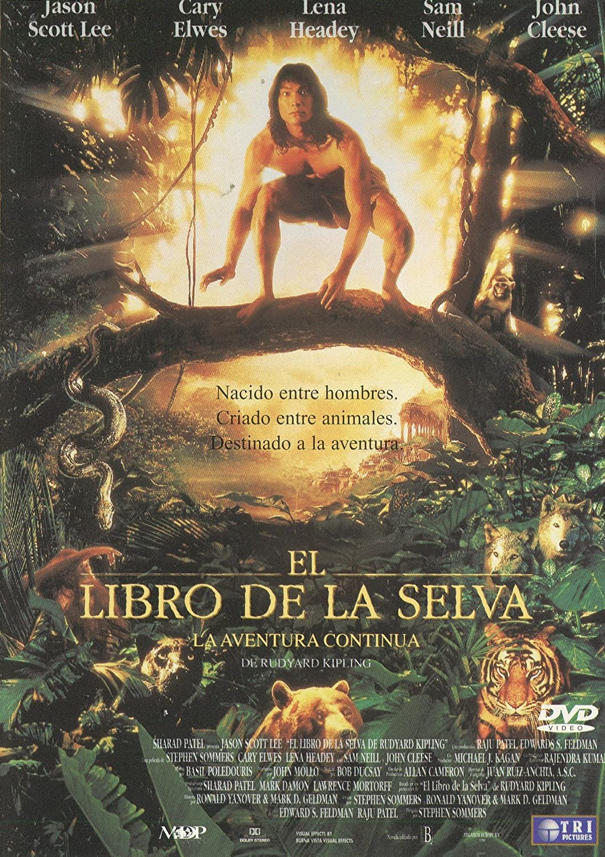 El libro de la selva. La aventura continúa [DVD]: Amazon.es: Jason Scott Lee, Cary Elwes, Lena Headey, Sam Neill, John Cleese, Jason Flemyng, Stefan Kalipha ...