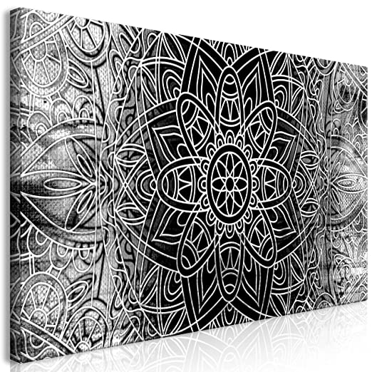 Murando Mega Xxxl Mandala Wandbild 170x85 Cm Einzigartiger Xxl