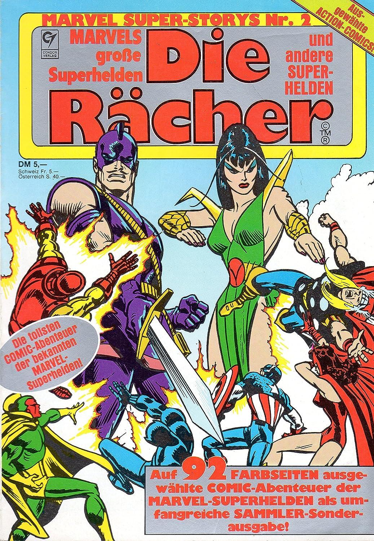 MARVEL Comic Super-Storys # 2: DIE RÄCHER und andere Superhelden ...