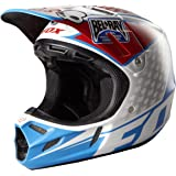 Fox Racing V4 Reed Replica Helmet (White/Red/Blue, Large)