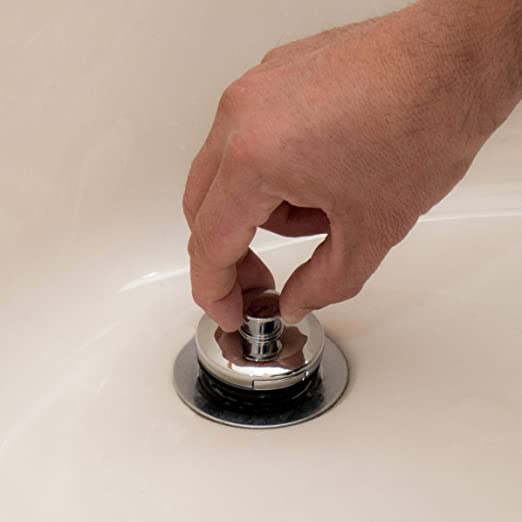 Amazon.com: Drain Strain Clog Preventing Bathtub Drain Strainer ...