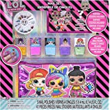 Townley Girl L.O.L. Surprise! Peel- Off Nail Polish Activity Set for Girls, Ages 5+ With 5 Nail Polish Colors, 240 Nail…
