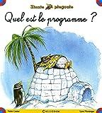 Zinzin pingouin - numéro 1 Quel est le programme ? (01)